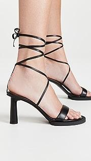 Jacquemus Les Carr Rond Sandals