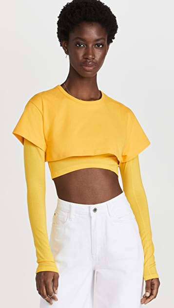 Jacquemus The Double T 恤