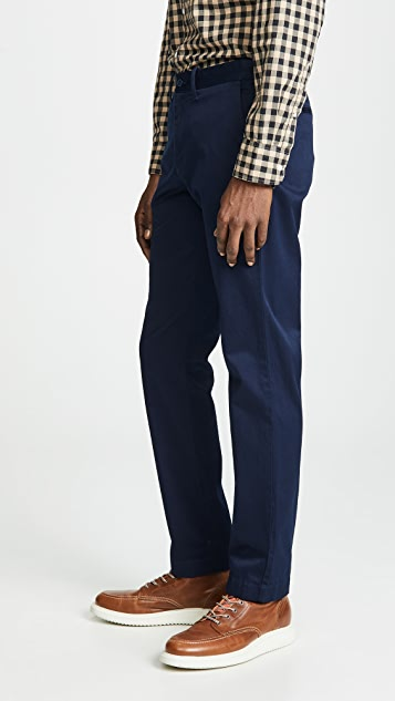 J. Crew 484 Stretch Chinos