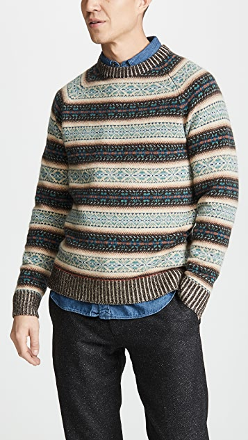 J. Crew Classic Logan Fair Isle Sweater
