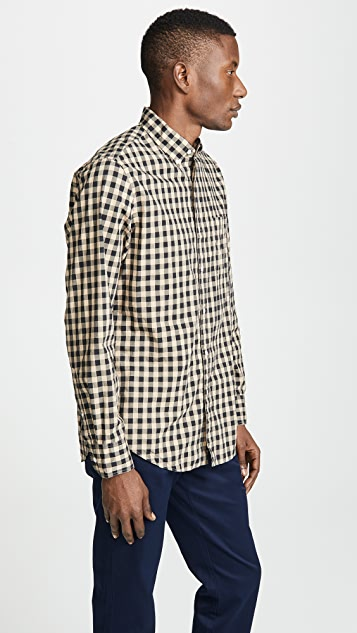 J. Crew Classic Gingham Shirt