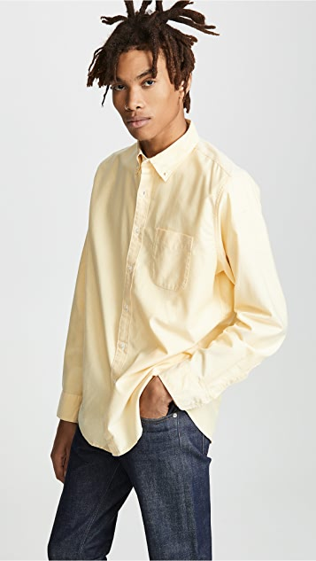 J. Crew Classic Stretch Oxford Shirt