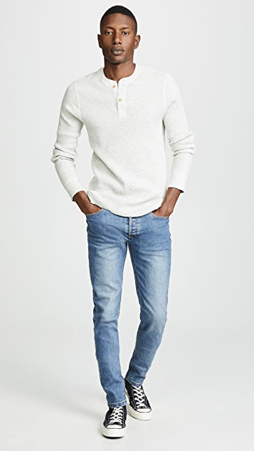 J. Crew W & B Thermal Henley