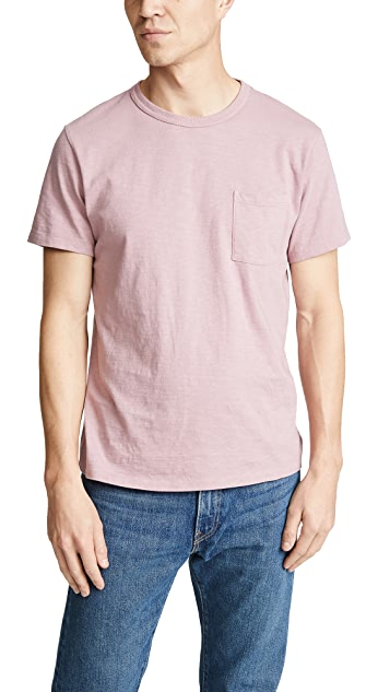 J. Crew Garment Dyed Pocket T-Shirt