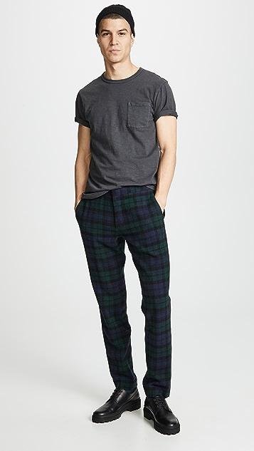 J. Crew Ludlow Tartan Suit Pants