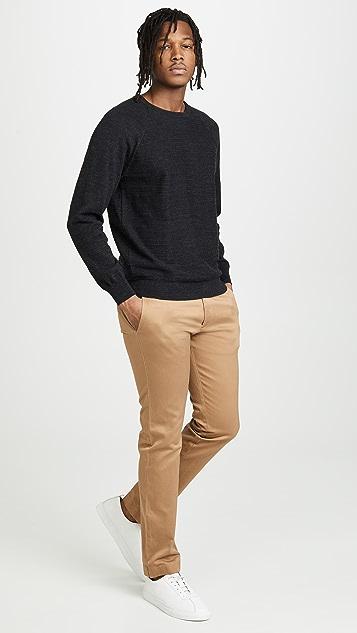 J. Crew Slim Rugged Cotton Sweater