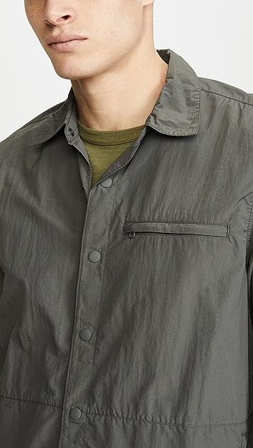 J. Crew Packable Nylon Shirt Jacket