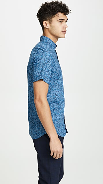 J. Crew Short Sleeve Button Down Shirt