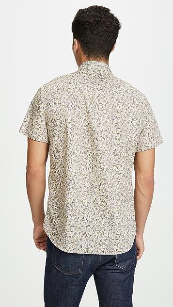 J. Crew Short Sleeve Button Down Shirt