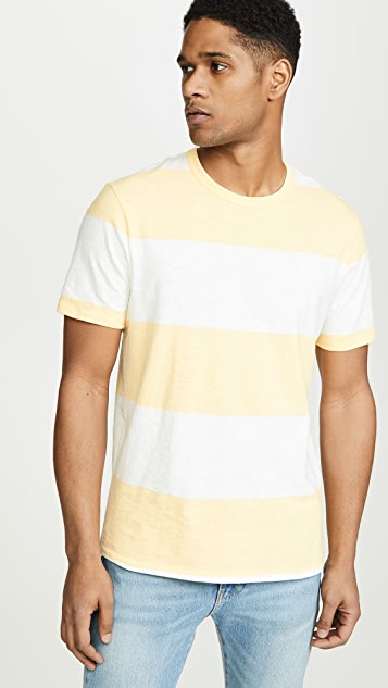 J. Crew Jersey Stripe Pocket Tee