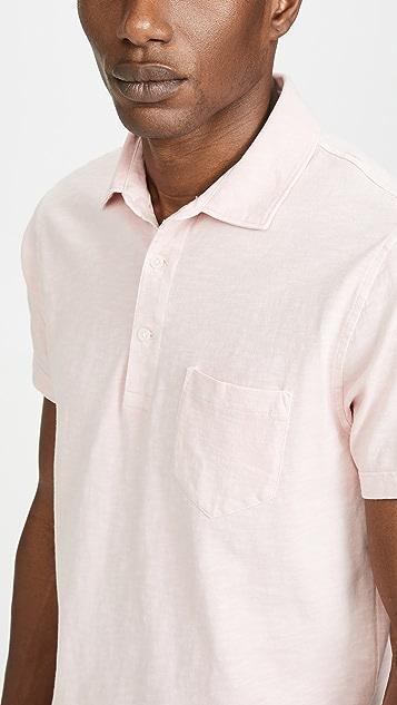 J. Crew Garment Dyed Slub Jersey Polo