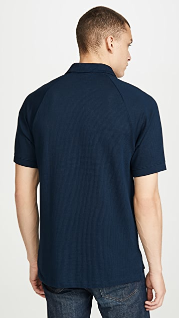 J. Crew Short Sleeve Coolmax Performance Knit Polo Shirt