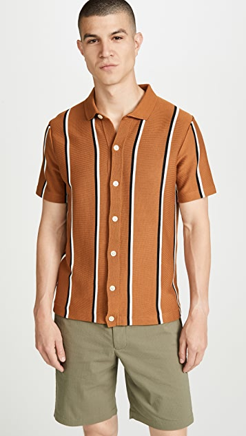J. Crew Short Sleeve Pima Cotton Coolmax Polo Cardigan