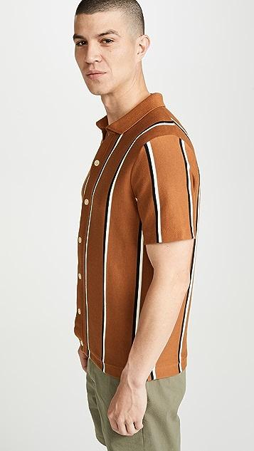 J. Crew Short Sleeve Pima Cotton Coolmax Polo Cardigan