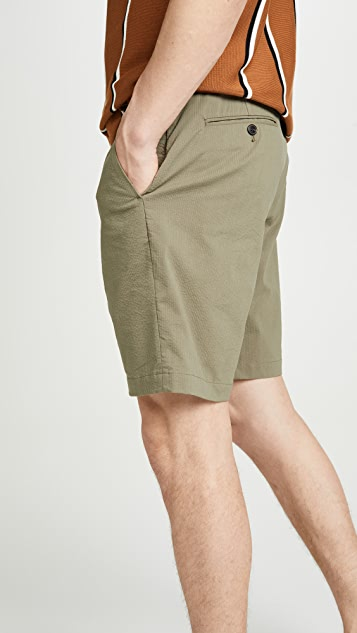 J. Crew Coolmax Seersucker Destination Shorts