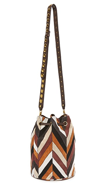 Jerome Dreyfuss Patchwork Popeye Bucket Bag