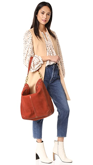 Jerome Dreyfuss Large Tanguy Hobo Bag