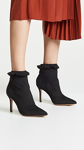 Jerome Dreyfuss Suzy 85 Collerette Booties