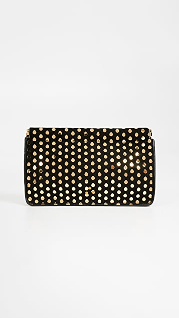 Jerome Dreyfuss Clic Clac Medium Clutch