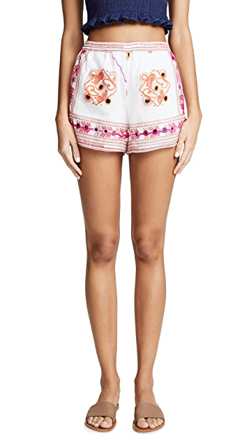 Juliet Dunn Tribal Shorts