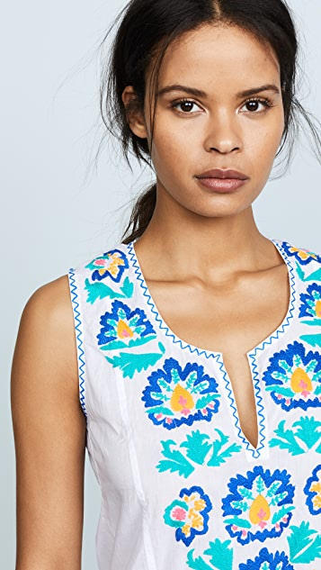 Juliet Dunn Embroidered Dress