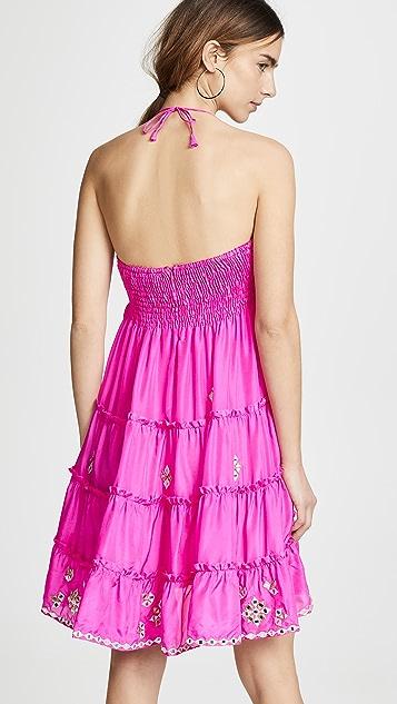 b60dce2ec6fd0 Juliet Dunn Silk Bow Tie Front Dress with Mirror Detailing | SHOPBOP