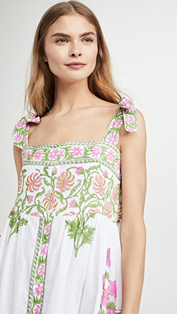 Juliet Dunn Tie Shoulder Cover Up Dress