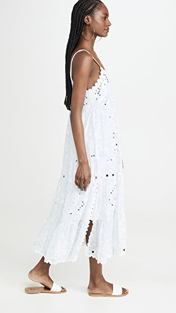 Juliet Dunn Printed Long Dress