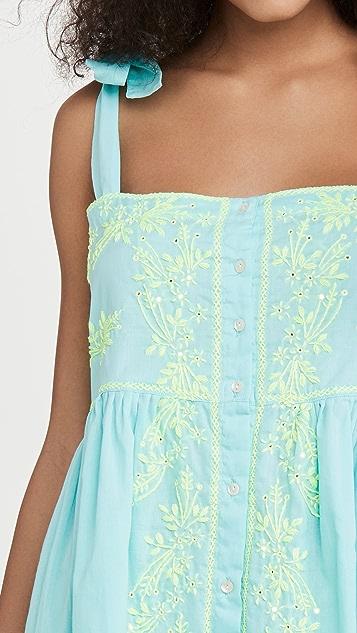 Juliet Dunn Платье с завязками на плечах