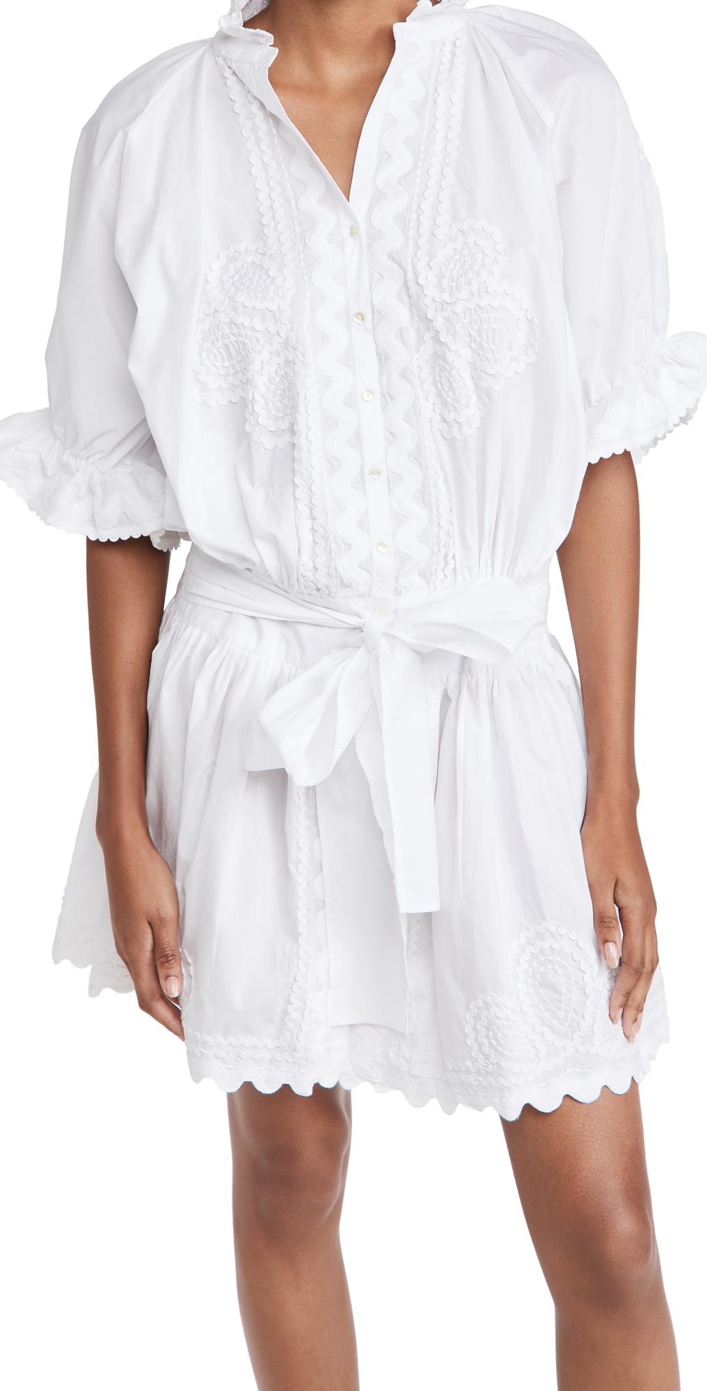 Poplin Blouson Dress
