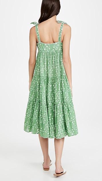 Juliet Dunn 70's Sun Dress