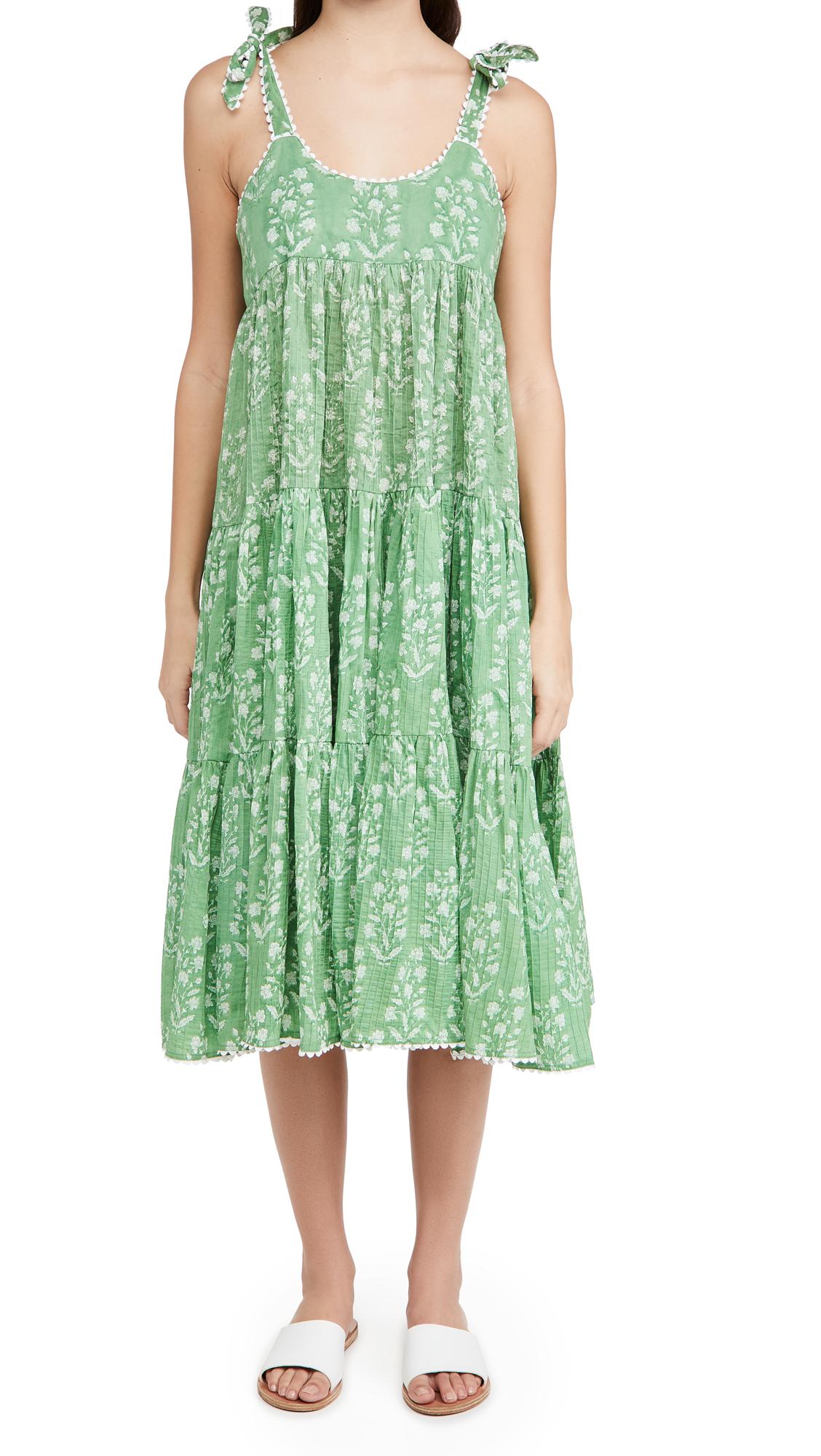 Juliet Dunn Cottons 70'S SUN DRESS