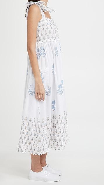 Juliet Dunn Tie Shoulder Dress
