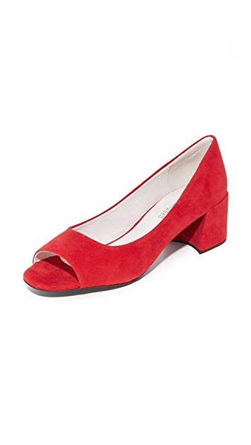 Jeffrey Campbell Buffy Peep Toe Pumps