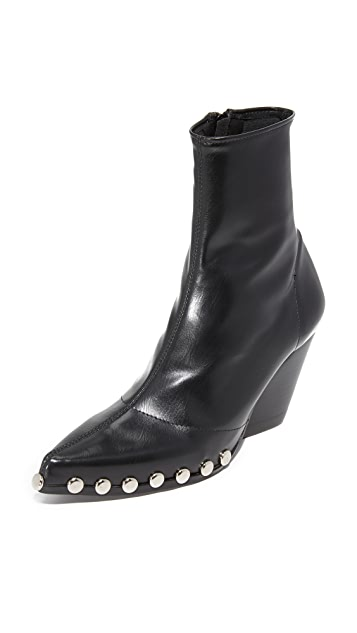 Jeffrey Campbell Walston Studded Booties