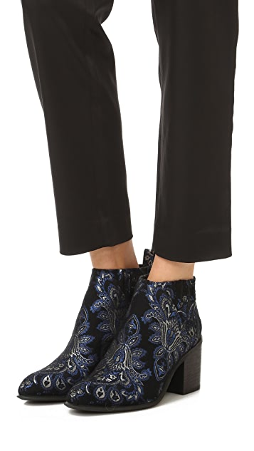 Jeffrey Campbell Viggo Brocade Booties
