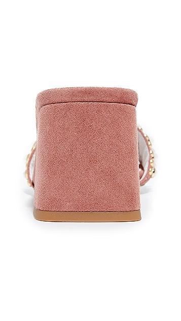 Jeffrey Campbell Parr Embellished Sandals