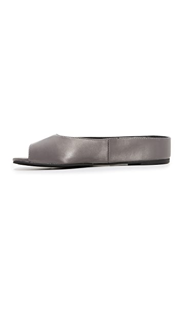 Jeffrey Campbell Del Mar Satin Flats