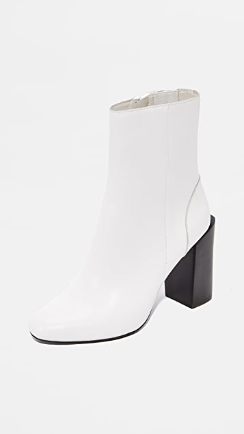 Jeffrey Campbell Stratford Stacked Heel Booties