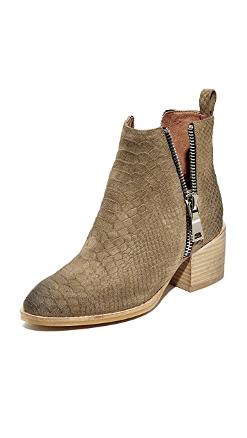 Jeffrey Campbell Boone Stacked Heel Booties