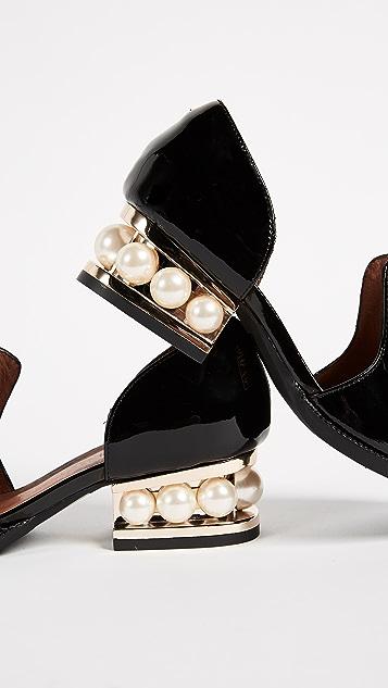 Jeffrey Campbell Civil Heel Loafers
