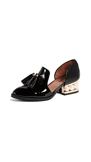 Jeffrey Campbell Civil Heel Loafers