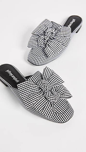 Jeffrey Campbell Ravis Bow Slides