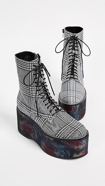 Jeffrey Campbell Bonfire Combat Boots