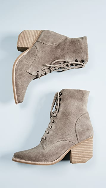 Jeffrey Campbell Elmcrom Lace Up Boots