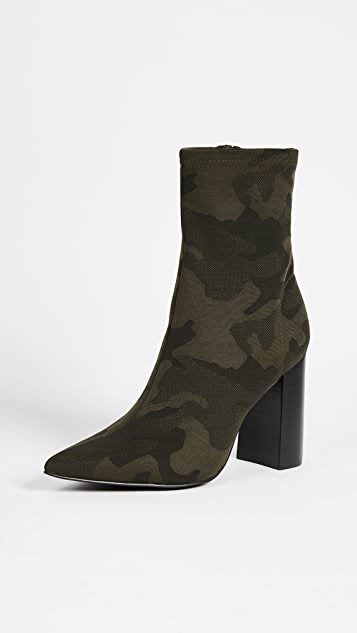 Jeffrey Campbell Siren Block Heel Ankle Booties