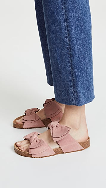 Jeffrey Campbell Lanai Bow Slides