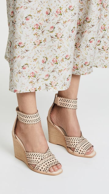 Jeffrey Campbell Besante Woven Wedges