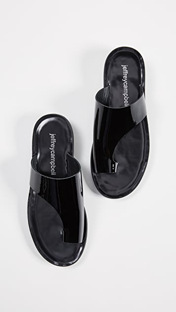 Jeffrey Campbell Morado Asymmetrical Slides