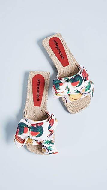 Jeffrey Campbell Print Fruit Slides
